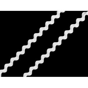 Dřevěná písmena F vintage bílá přírodní 1ks
