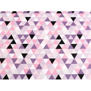 Brož pes, kočky s broušenými kamínky černá 1ks