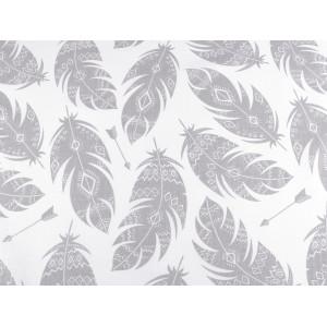 Brož liška s kožešinou a kamínky černá 1ks