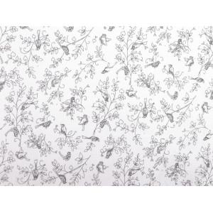 Saténová čelenka pin-up 810247 překřížená s listy červená stř. 1ks