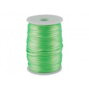 Svatební podvazek s kamínky 5,5 cm bílo-modrá 1ks