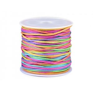 Velký teplý šátek / pléd s třásněmi 135x135 cm béžová 1ks