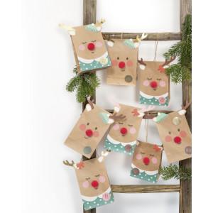 Bavlněný flanel zvířátka růžová sv. 380955
