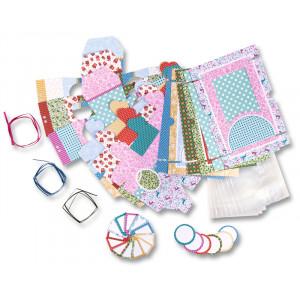 Bavlněný flanel zvířátka modrá tmavá 380955