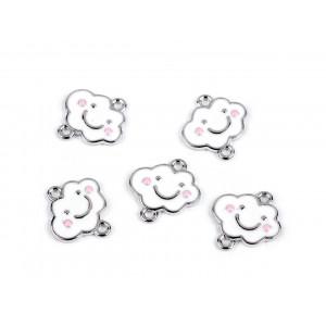 Dětský nákrčník fleece žlutozelená 810477