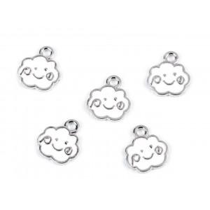Dětský nákrčník fleece modrá andělská 810477
