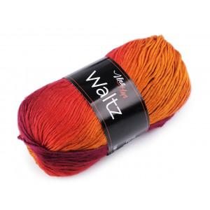 Multifunkční šátek pružný dvojitý modrá jemná 810399